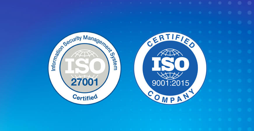 Navitas Achieves ISO 9001:2008 an 27001:2013 Re-Certifications