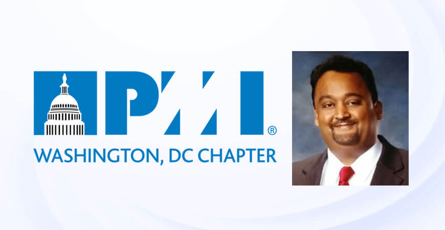 "Navitas Vice President - IT Service Delivery Harshid Shah has been appointed to the position of ""AVP – Volunteer Coordination"" at PMI Washington DC Chapter Board Of Directors"