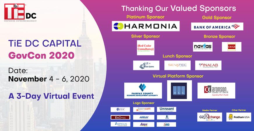 Navitas Sponsors TiE DC Capital GovCon 2020