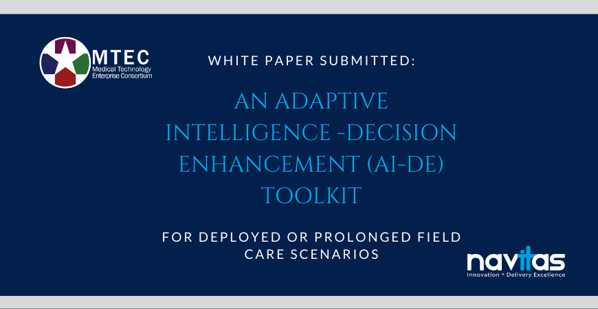 Navitas Submits White Paper to Advance Military AI & Health Innovations
