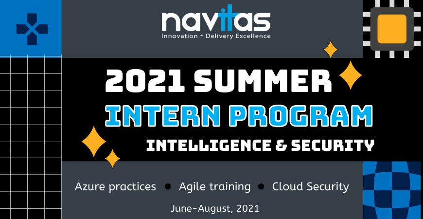 Navitas 2021 Summer Internship Program