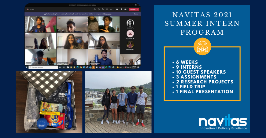 Navitas Successfully Completes 2021 Summer Intern Program