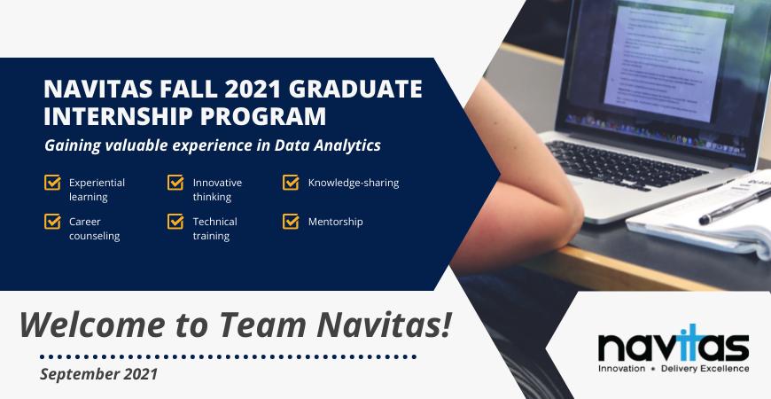 Navitas 2021 Fall Graduate Intern Program: Data Analytics