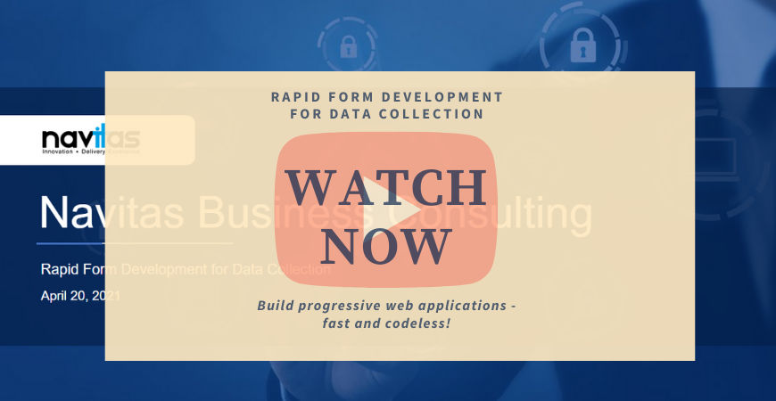 New Video Release: Rapid Form Development for Data Collection