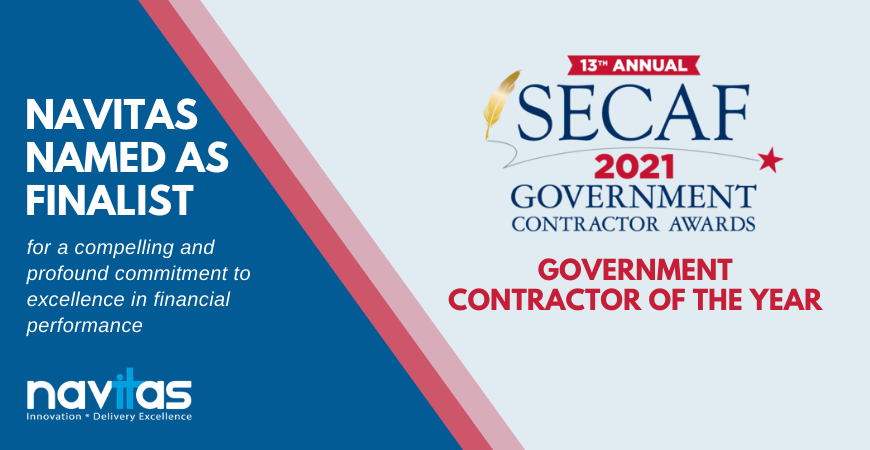 Navitas Named as Finalist for SECAF 2021 Government Contractor of the Year