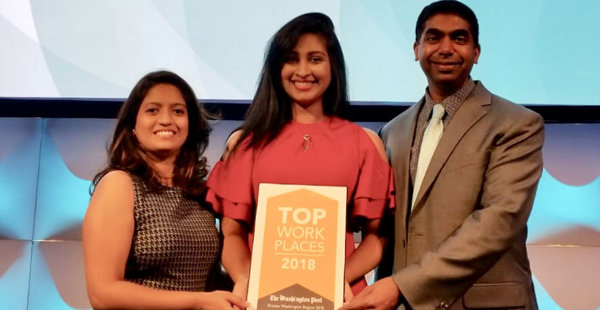 The Washington Post names Navitas Business Consulting, Inc a winner of the Greater Washington Area 2018 Top Workplaces Award